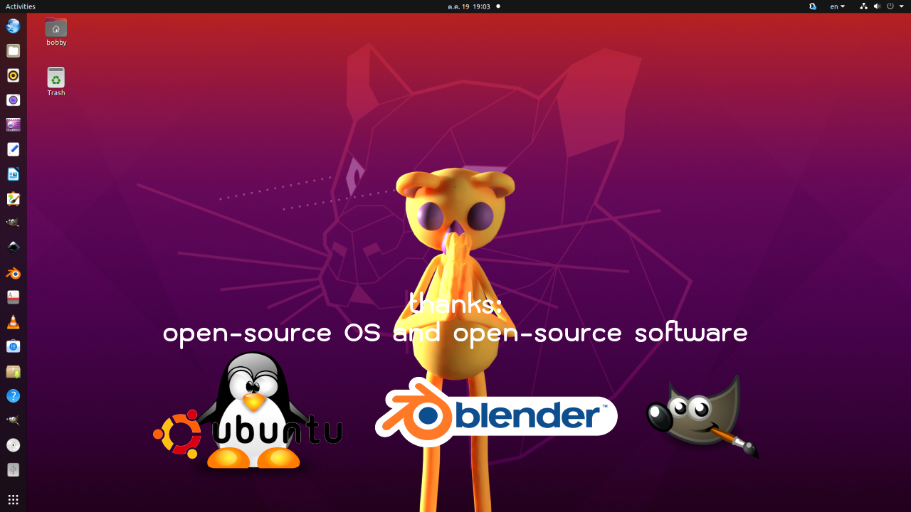 open-source OS and open-source software